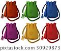 Small handbags in six colors 30929873