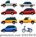 Different types of transportations 30929978