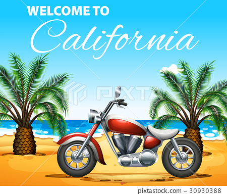 Welcome to California poster  30930388