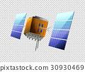 Satellite on transparent background 30930469