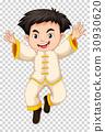 白色 传统 戏服 30930620