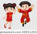 孩子 中式 中国人 30931204
