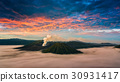 Mount Bromo volcano (Gunung Bromo) during sunrise 30931417