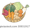 vegetables, vegetable, foodstuff 30931917
