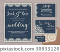 card, invitation, wedding 30933120