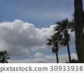 藍天 藍藍的天空 白雲 30933938