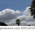 藍天 藍藍的天空 白雲 30933939