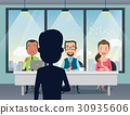 Job Interview with HR and boss. Talent audition. 30935606