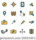 icon, line, vector 30935951