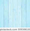 Wooden wall texture background, blue pastel colour 30936618