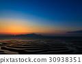 가마와 해안의 석양 30938351