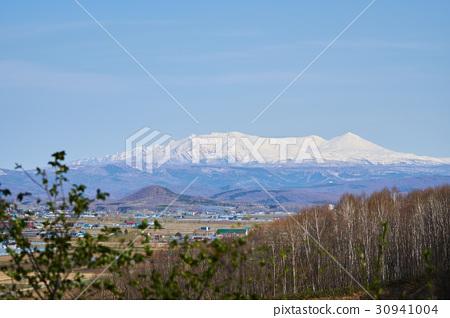 Masuzuyama mountain range seen from mountain peak 30941004