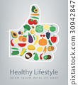 Healthy Lifestyle concept. We are what we eat 30942847