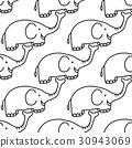 pattern, animal, elephant 30943069