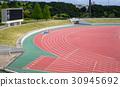 track, stadium, sports ground 30945692