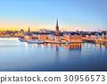 斯德哥尔摩 瑞典 夜晚 30956573