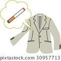 담배, 시가렛, 냄새 30957713
