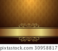 Golden Background With Luxury Design 30958817