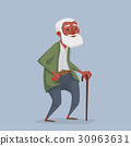 old, man, vector 30963631