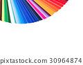 Color palette,color catalog,guide of paint samples 30964874