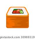 寿司 三文鱼 鲑鱼 30969319