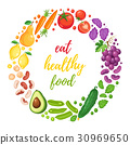 healthy eating poster 30969650