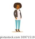 黑色 女人 女性 30971519