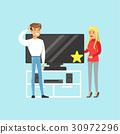 电视 选择 客人 30972296