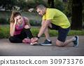 injury, jogging, outdoor 30973376