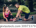 injury, jogging, outdoor 30973379