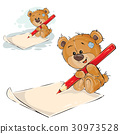Teddy, bear, vector 30973528