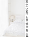 White room interior 30974646