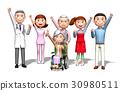 ความกล้าในครอบครัวและโรงพยาบาลก่อให้เกิดครอบครัว 30980511