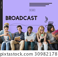 Broadcast Audio Music Streaming Online Entertainment Media 30982178