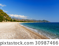 beach, cirali, turkey 30987466
