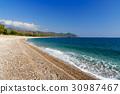 beach, cirali, turkey 30987467