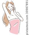 女性脫髮 30987891