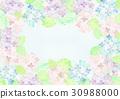 繡球花框架 30988000