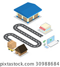 shopping online system 30988684