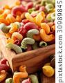 Italian food. Pasta. 30989845