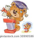 vector, Teddy, bear 30990586