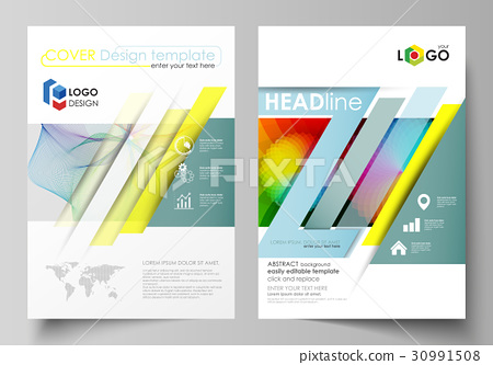 Business templates for brochure, flyer, booklet 30991508