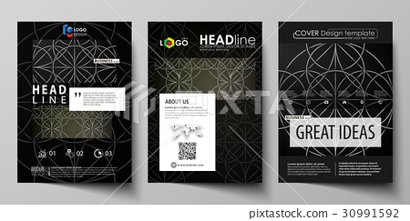 Business templates for brochure, magazine, flyer 30991592