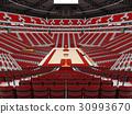 arena, basketball, modern 30993670