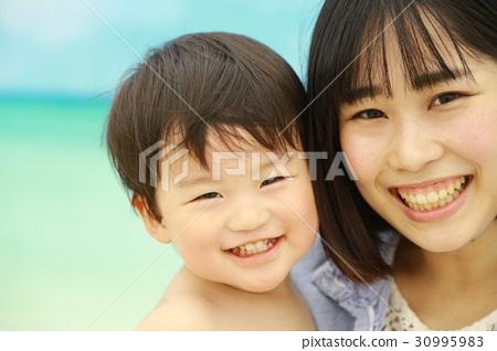 父母和小孩 親子 人物 30995983