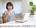 office, lady, working 30996273