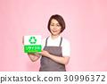 중동의 여성 (앞치마, 메시지 플레이트) 30996372