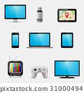 icon, vector, device 31000494