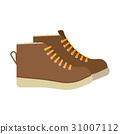 靴子 鞋 棕色 31007112