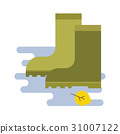 rubber boots icon 31007122
